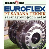 EUROFLEX COUPLING REXNORD PT SARANA TEKNIK FOR GAS TURBIN STEAM COMPRESSOR EUROFLEX COUPLING DISC