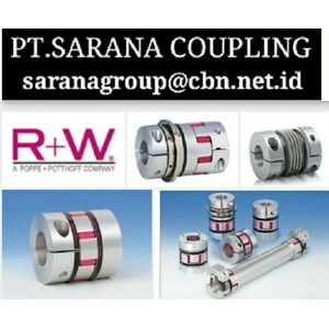RW COUPLINGS METAL BELLOWS COUPLING PT SARANA COUPLING - TORQUE LIMITER RW