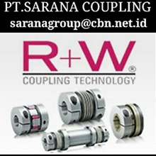 R+W RW COUPLING METAL BELLOWS COUPLING PT SARANA COUPLING FLEXIBLE SHAFT TORQUE LIMITER RW COUPLING