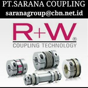 RW COUPLINGS METAL BELLOWS COUPLING PT SARANA COUPLING - TORQUE LIMITER RW COUPLINGS