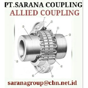 ALLIED GRID COUPLING STEELFLEX GEAR COUPLING PT SARANA COUPLING