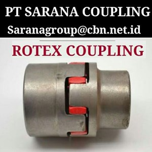 ROTEX COUPLING FL PT SARANA COUPLING JAW COUPLING KTR