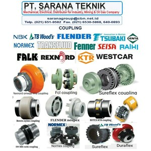 PT SARANA TEKNIK AGENT COULING JAKARTA GEAR FLUID COUPLING RUBER FLEXIBLE