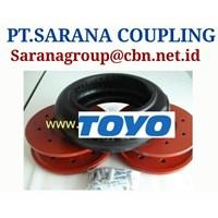 PT SARANA COUPLING TOYO RUBER TYRE COUPLING TYPE RF RFH