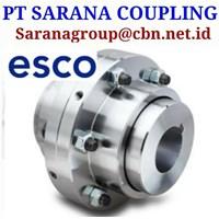 ESCO GEAR COUPLING TYPE FST NST CST DPU PT SARANA COUPLING