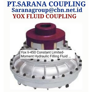 HYDRAULIC YOX FLUID COUPLING PT SARANA COUPLING MADE IN CHINA