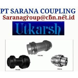GEAR COUPLING UTKARSH FLEXIBLE PT SARANA COUPLING
