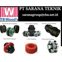 agent  TB WOODS COUPLING PT SARANA TEKNIK sureflex duraflex