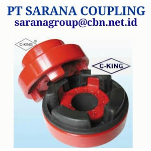 C-KING JAW COUPLING MADE IN CHINA PT SARANA COUPLING