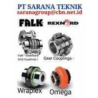 REXNORD FALK GEAR AND GRID OMEGA WRAPLEX COUPLING