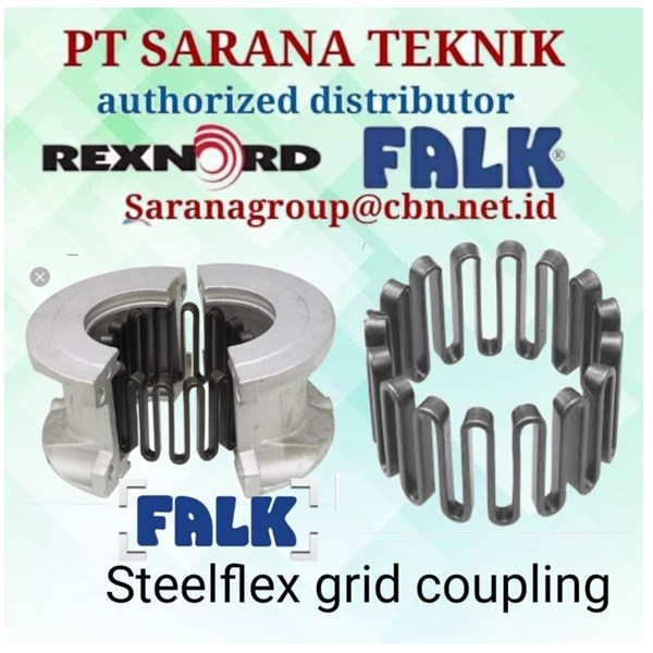 GRID COUPLING STEEFLEX FALK REXNORD PT SARANA TEKNIK