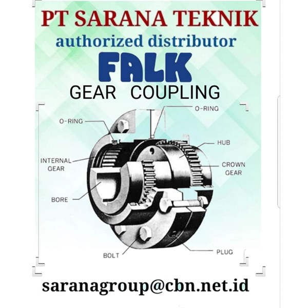1025G20 1030G20 PT SARANA TEKNIK FALK COUPLING GEAR GRID