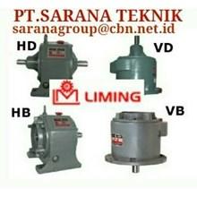Liming gear reducer gearbox gear motor WORM GEAR pt. sarana teknik