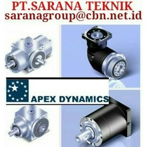 Dari APEX DYNAMICS GEARBOX GEAR HEAD PT. SARANA TEKNIK IND 0
