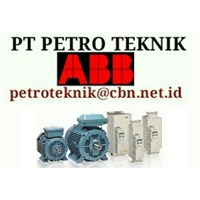 ABB LOW VOLTAGE ELECTRIC MOTOR - pt petro teknik electric motor abb ac low voltage AGENT