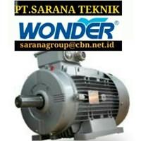 WONDER ELECTRIC MOTOR PT SARANA TEKNIK SELL WONDER ELECTRIC MOTOR
