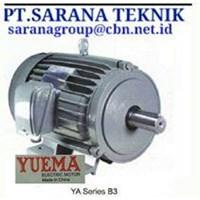 YUEMA ELECTRIC MOTOR PT SARANA TEKNIK YUEMA STANDARD MOTOR FOOT MOUNTED & FLANGE 50 HZ