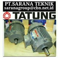 TATUNG ELECTRIC MOTOR PT SARANA TEKNIK TATUNG AC ELECTRIC MOTOR 50 HZ 3 PHASE