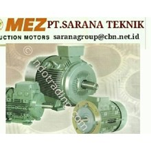 MEZ ELECTRIC AC  MOTOR PT SARANA TEKNIK MEZ ELECTRIC MOTOR AC ELECTRIC MOTOR MEZ