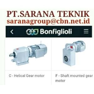 BONFIGLIOLI GEAR MOTOR GEAR REDUCER PT SARANA TEKNIK BONFIGLIOLI RIDUOTORI GEARBOXES PLANETARY BRAKE MOTORS gear motor