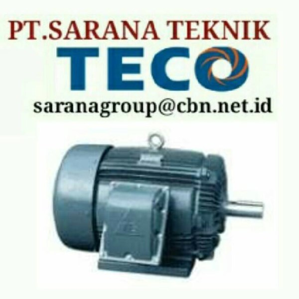TECO ELECTRIC MOTOR PT SARANA TEKNIK SELL ELECTRIC TECO MOTOR TYPE AEEB 50 HZ B3 B5 FOOT MOUNTED
