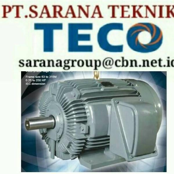 TECO ELECTRIC MOTOR PT SARANA TEKNIK SELL ELECTRIC TECO MOTOR TYPE AEEB 50 HZ STANDAR AC MOTOR
