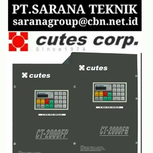 PT SARANA CUTES INVERTER MOTOR CUTES INVERTER TAIWAN SERI CT 2002 & CT 2004