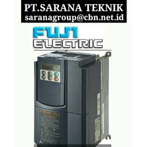 FUJI FRENIC FRN  INVERTER FOR DRIVE AC MOTOR PT SARANA TEKNIK MOTOR FUJI INVERTER MADE IN JAPAN