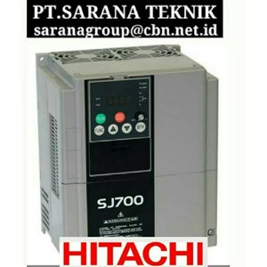 HITACHI INVERTER PT SARANA TEKNIK SERI INVERTER HITACHI SJ 700B SERI SJ 300  SJ 200 SX200