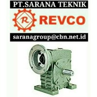 REVCO WORM GEAR REDUCER PT SARANA GEARBOX revco gearmotor gearreducer worm gearMOTOR