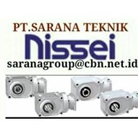 NISSEI GEAR MOTOR GTR PT SARANA GEARBOX NISSEI GEAR MOTOR GTR INDONESIA REDUCER 1