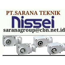NISSEI GEAR MOTOR GTR PT SARANA GEARBOX NISSEI GEAR MOTOR GTR INDONESIA REDUCER
