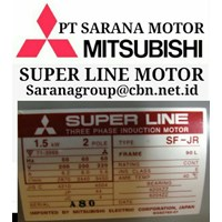 Jual MITSUBISHI SUPERLINE INDUCTION MOTOR AC PT SARANA MOTOR SERI J SF-J SF-JR 2
