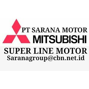 MITSUBISHI SUPERLINE INDUCTION MOTOR AC PT SARANA MOTOR SERI J SF-J SF-JR