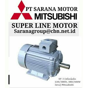 MITSUBISHI SUPERLINE MOTOR AC LOW VOLTAGE PT SARANA MOTOR SERI J