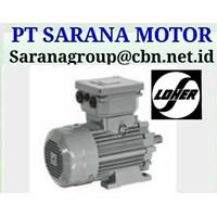 Jual LOHER ELECTRIC  AC MOTOR PT SARANA MOTOR LOHER MOTOR 2