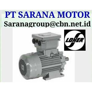 LOHER MOTOR PT SARANA MOTOR LOHER EXPLOSION PROOF & AC MOTOR