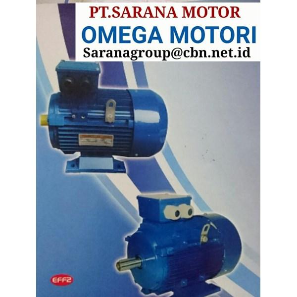OMEGA MOTORI ELECTRIC AC MOTOR 3 PH 50HZ PT SARANA MOTOR