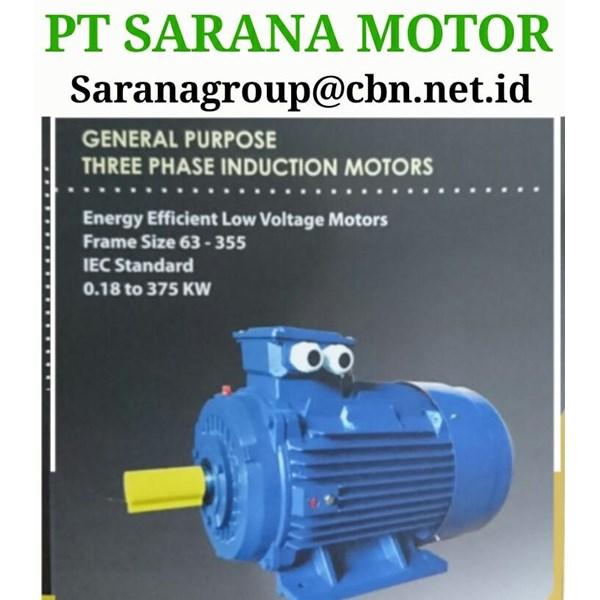 PT SARANA TITAN  ELECTRIC AC MOTOR 50 HZ FOOT MOUNTED