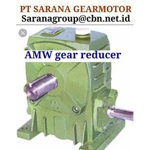 AMW GEAR MOTOR REDUCER PT SARANA GEAR MOTOR WPA WPX