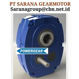 POWERGEAR SMSR REDUCER PT SARANA GEAR REDUCER MOTORS