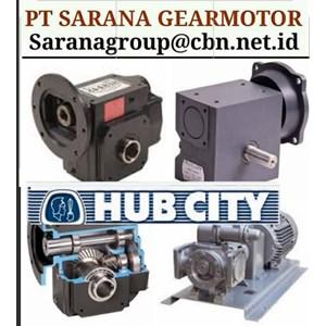 HUB CITY GEAR REDUCER GEARBOX PT SARANA GEAR MOTOR