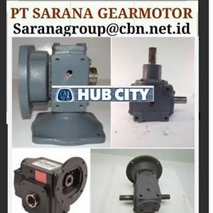 HUB CITY GEAR REDUCER GEARBOX PT SARANA GEAR MOTORS