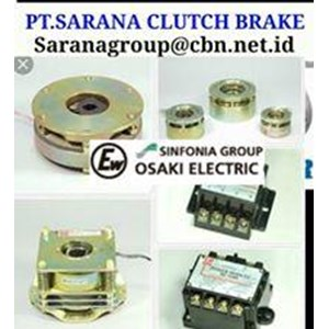 OSAKI ELECTRIC CLUTCH BRAKE PT SARANA BRAKE  FOR GEAR MOTOR