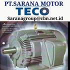 INDUCTION AC TECO ELECTRIC AC MOTOR GEAR MOTOR  PT SARANA MOTOR 1
