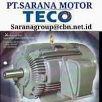 INDUCTION AC TECO ELECTRIC AC MOTOR GEAR MOTOR  PT SARANA MOTOR