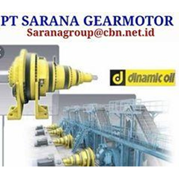 GEAR REDUCER DINAMIC OIL PLANETARY GEARBOX PT SARANA GEAR MOTOR