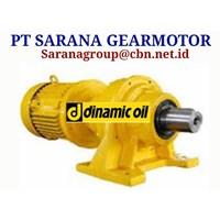 PT SARANA PLANETARY GEARBOX GEAR MOTOR DINAMIC OIL