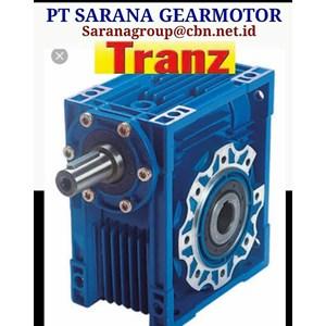 PT SARANA GEAR MOTOR TRANZ WORM GEAR MOTOR NMRV