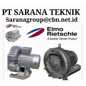 SIDE CHANNEL ELMO RIETSCHLE BLOWER PT SARANA TEKNIK GEAR MOTOR